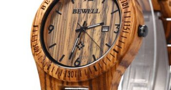 Bewell-ZS-W086B-horloge-hout-2