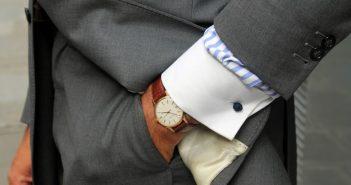 Horloge als relatiegeschenk.
